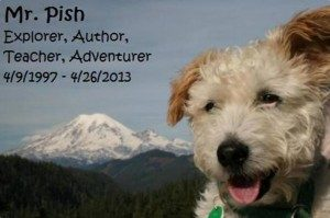 Mr. Pish: best friend, inspiration, co-author