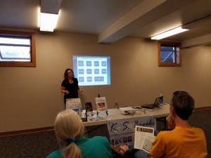 K. S. Brooks teaching self-publishing for the Colville Public Library