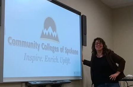 K. S. Brooks teaching at Community Colleges of Spokane