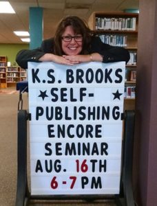 K. S. Brooks at the Libraries of Stevens County