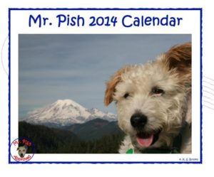 2014 Mr Pish hanging calendar web