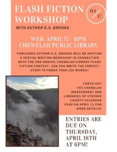 2nd Annual Chewelah Library's Flash Fiction Contest