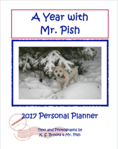 A Year with Mr Pish 2017 front cover