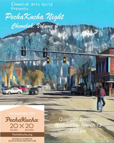 Pecha Kucha night poster