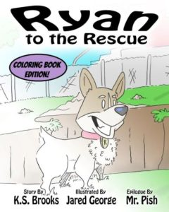 ryan to the rescue coloring book cover web