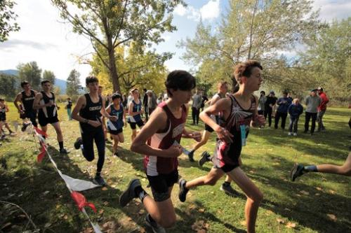 Can-Am Invitational Cross Country Meet Kettle Falls WA 2019