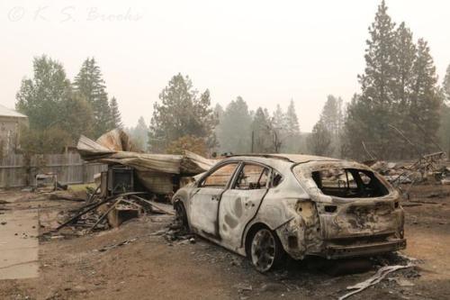 Fire Devastation Malden WA Sept 2020