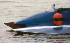 Hydroplane Raceboat and Helmet Cambridge MD 2002