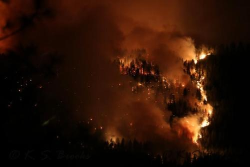 Inchelium Hwy Fire 2 Sept 2020